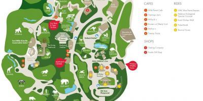 kort over zoo